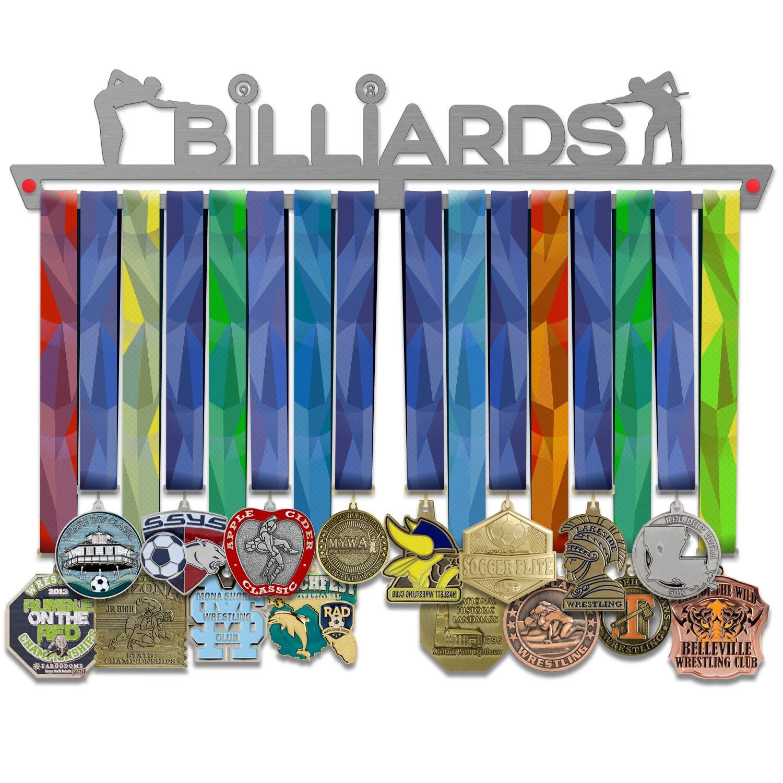 VICTORY HANGERS Soportes Para Medallas BILLIARDS Gancho Exhibidor ...