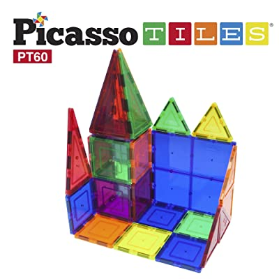 Best PicassoTiles - Magnetic 3D Building Blocks For Kids