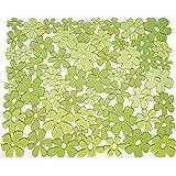 InterDesign Blumz Kitchen Sink Protector Mat, Green by InterDesign