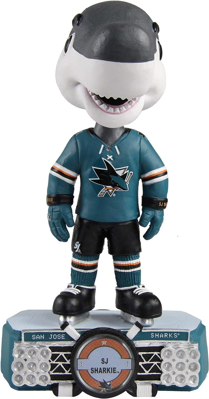 SJ Sharkie (San Jose Sharks) Stadium Lights Bobblehead by Foco