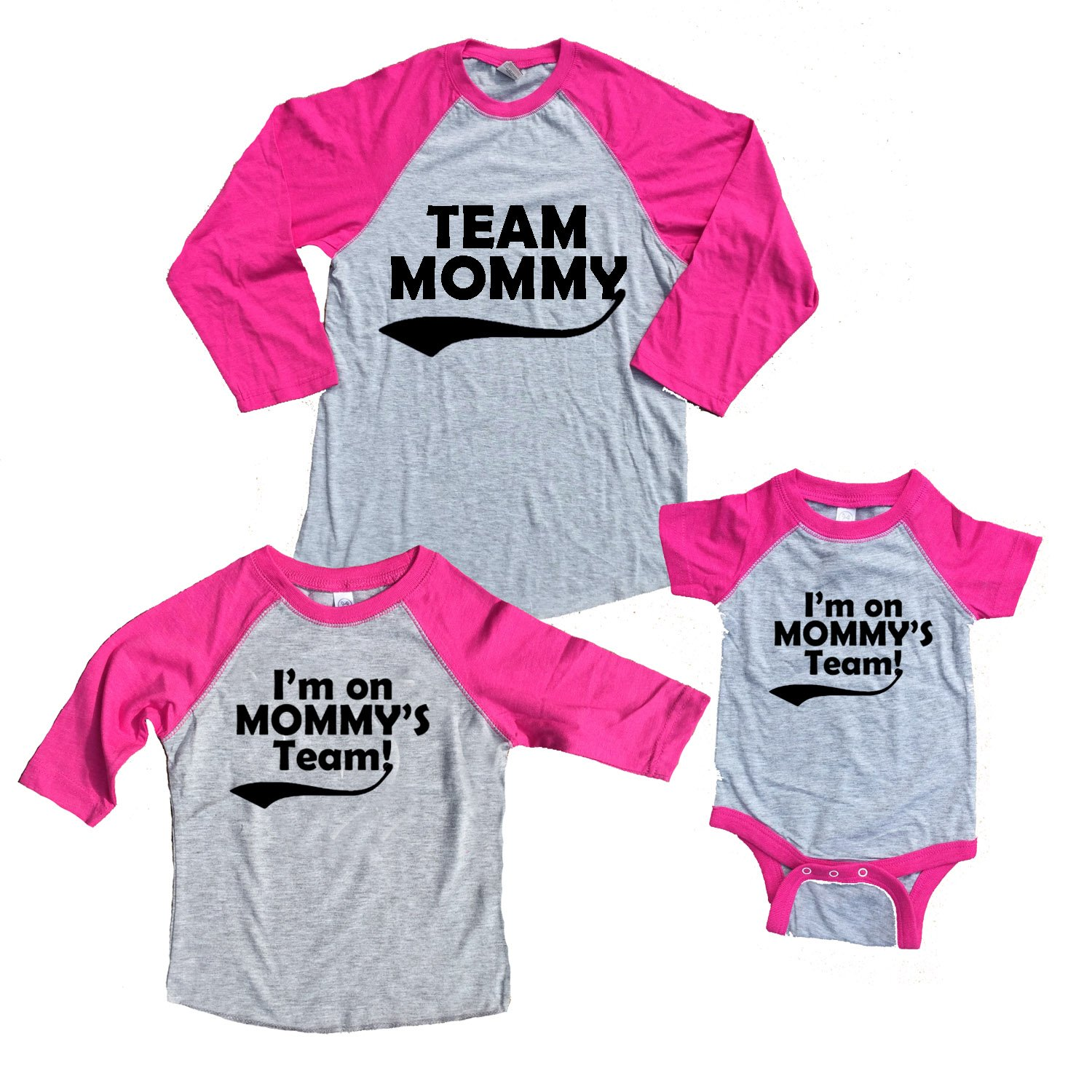 Amazon Footsteps Clothing Team Mommy and Mommy s Team Mother