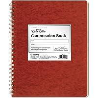 """Ampad Computation Book, 4x4 Quad Ruled, 76 Sheets, Ivory, 11-3/4"""" x 9-1/4"""", 1 per Pack (22-157)"""