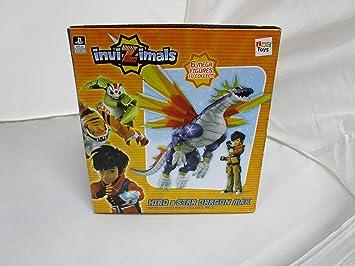 Amazon.com: Invizimals Hiro y estrella Dragon Max articulado ...