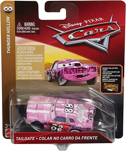 Disney//Pixar Cars Die-cast Tailgate with Accessory Vehicle Card Mattel FLL60
