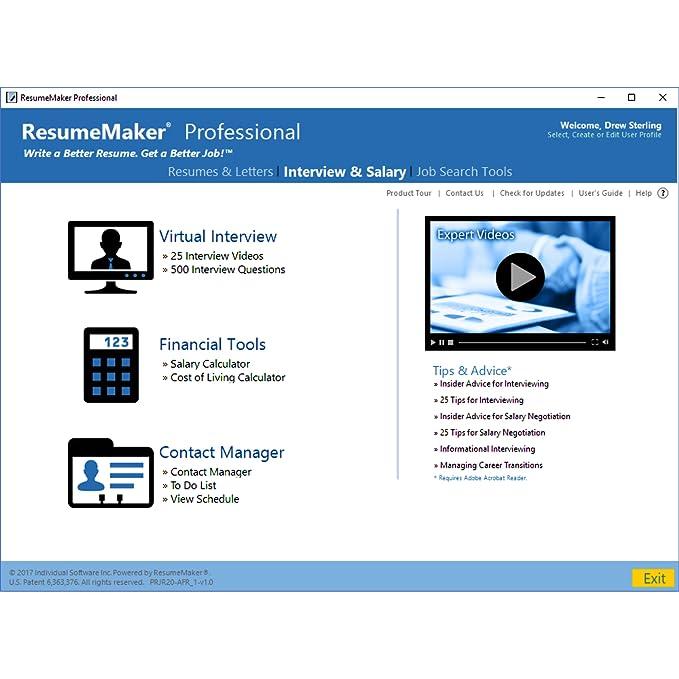 amazoncom resumemaker professional deluxe 20 download software