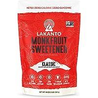 Lakanto Monkfruit Sweetener, 1:1 Sugar Substitute, Keto, Non-GMO (Classic White - 3 lbs)