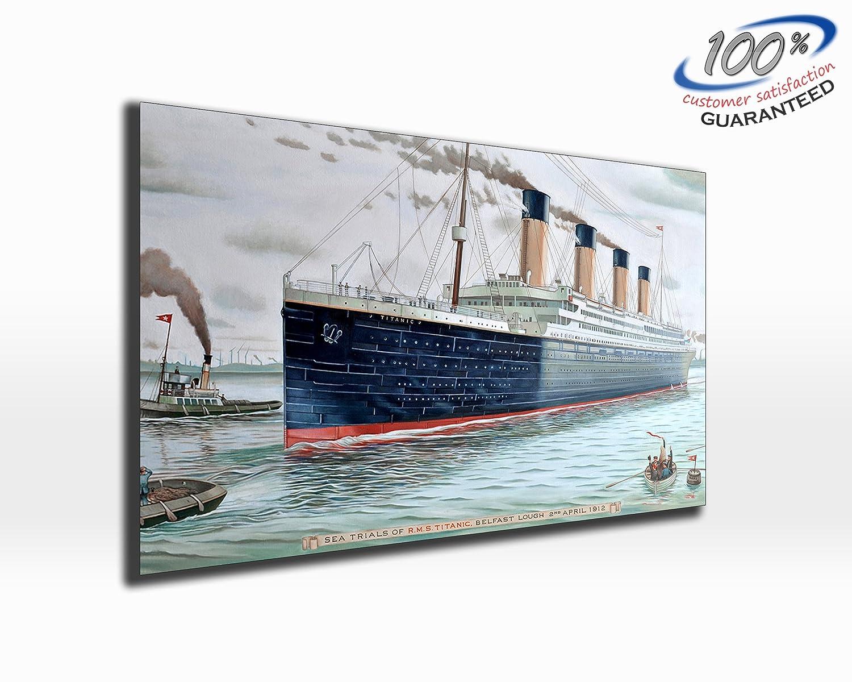 Titanic 1p Bild Bilder Titanik auf Leinwand Wandbild Poster