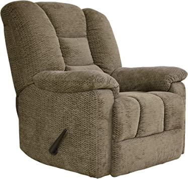 Amazon Com Homelegance Manual Reclining Chair Brown Furniture Decor
