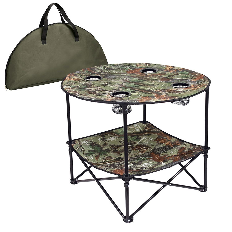 Amazon.com: Preferred Nation Portable Folding Table, Camo: Patio, Lawn U0026  Garden Part 76