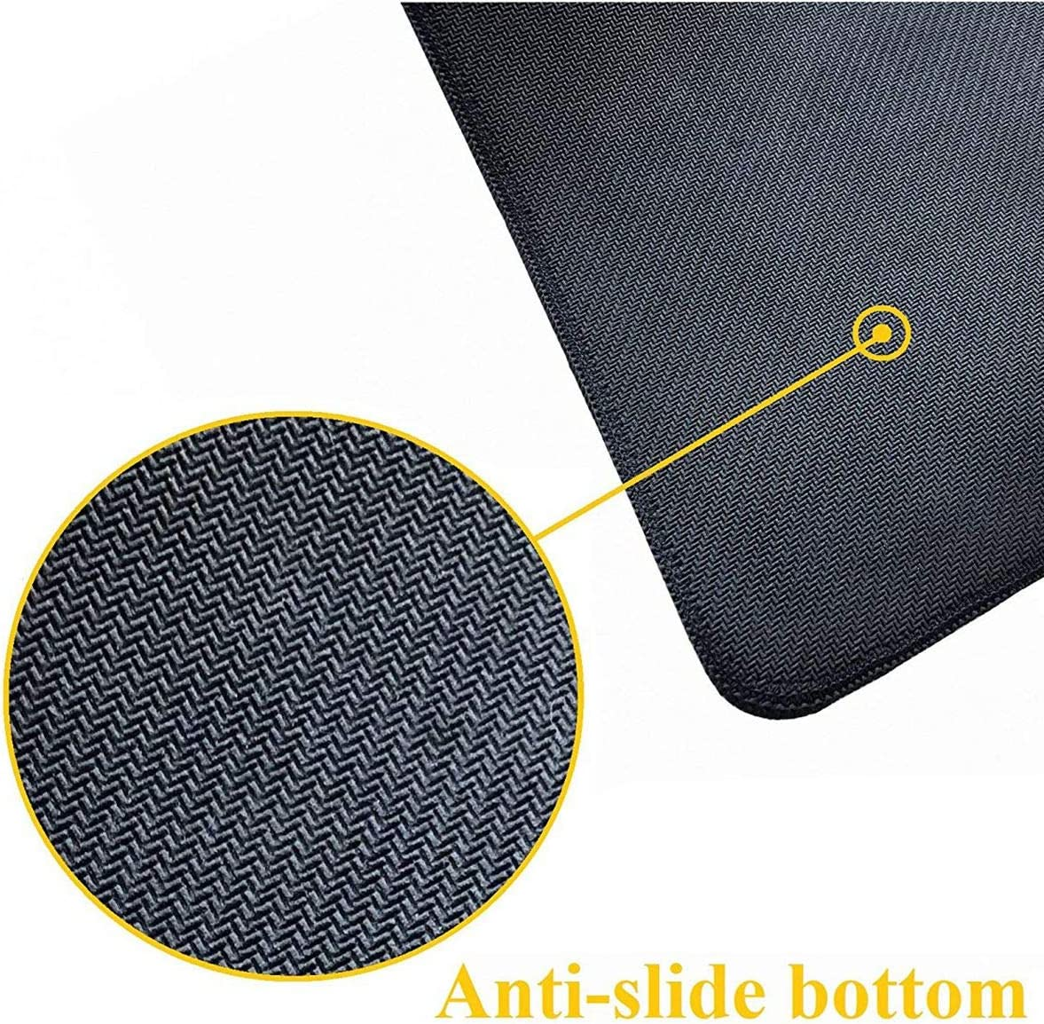 Office /& Home Waterproof Desk Pad Keyboard Mat with Non-Slip Base for Work /& Gaming 29.5x15.7In Extended Gaming Mouse Pad with Stitched Edges-Drummer Large XXL Professional Mousepad