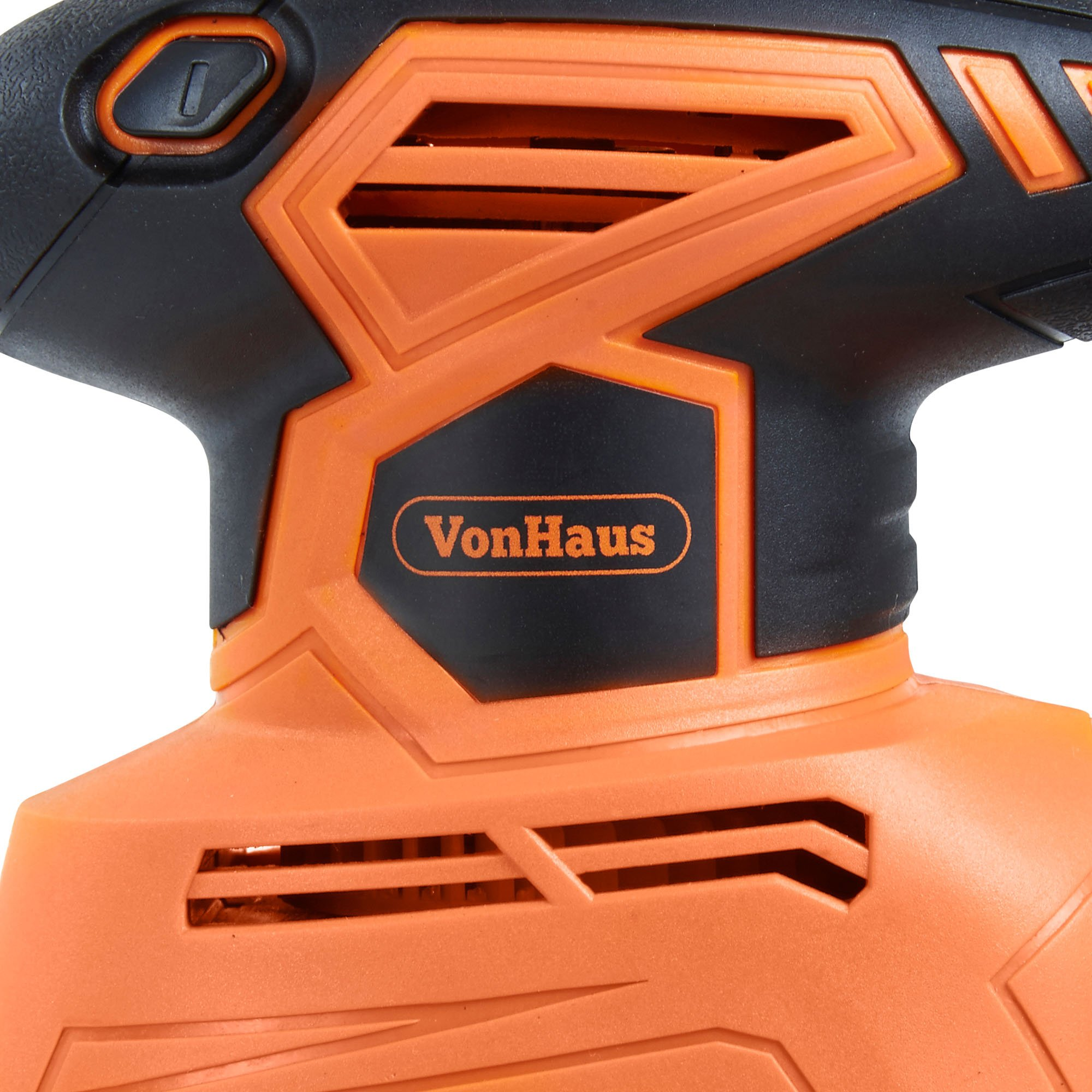 VonHaus 1.1A 2 in 1 Sheet & Detail Sander - 14000 RPM with 6 Sanding Sheets Included - Multi-Use, Compact Lightweight Design with Dust Extraction System and 6ft Power Cord by VonHaus (Image #9)