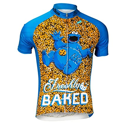 Brainstorm Gear Women s Freshly Baked Cookie Cycling Jersey - SSFB-W (Brown    Blue a7ffb1ead