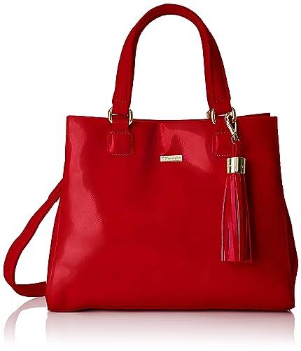 Tamaris Damen Madina Handbag Henkeltasche, Rot (Chili Comb