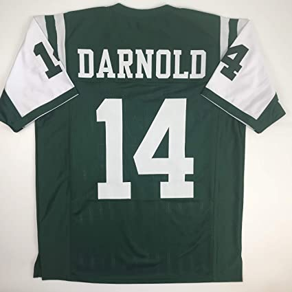 c6878c1d2 Unsigned Sam Darnold New York Green Custom Stitched Football Jersey Size XL  New No Brands