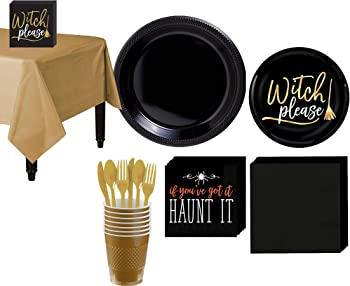 Party City Witch Please Party Supplies For 8 Guests