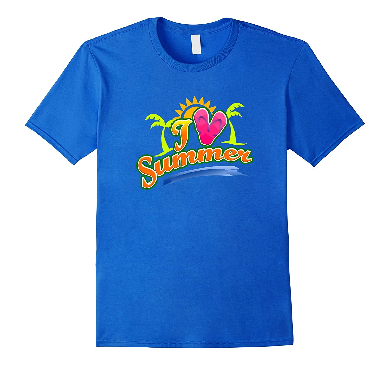 I Love Summer T-Shirt-CD