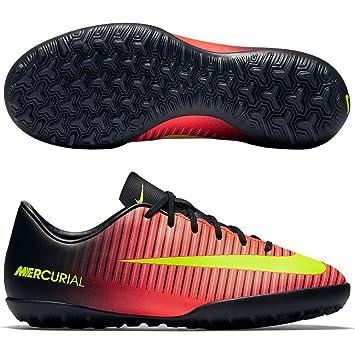 Nike - Zapatillas fútbol - 831949-870 - jr Mercurialx Vapor XI TF - Infantil - 28: Amazon.es: Deportes y aire libre