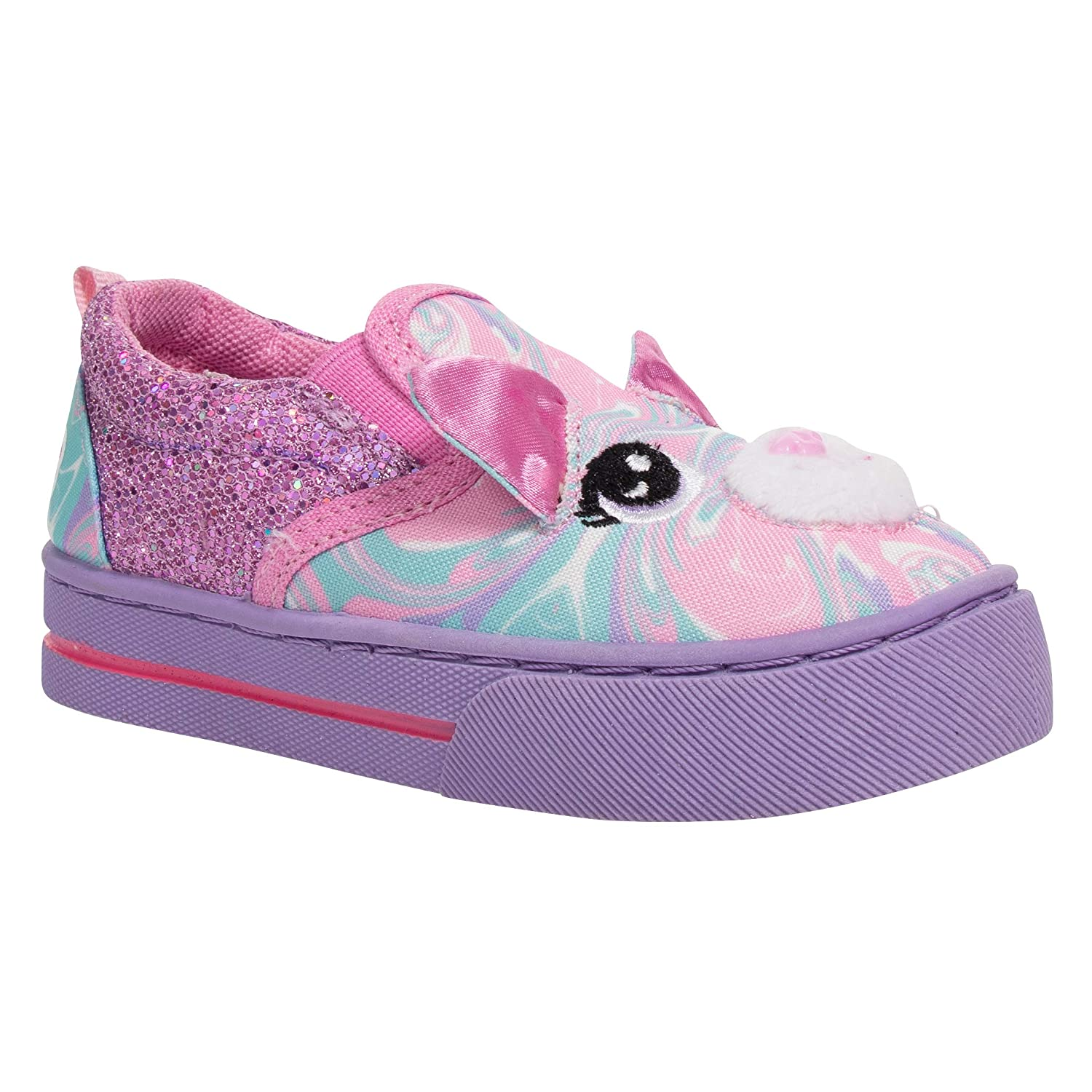 Build A Bear 3D Pink Swirly Kitty Girl Shoes