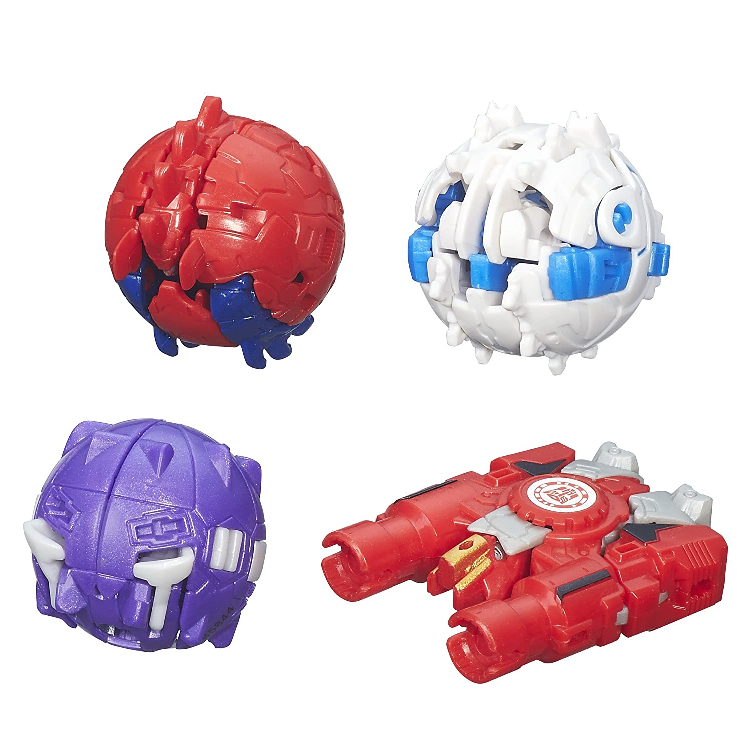 Transformers Robots in Disguise Mini-Con 4 Pack Hasbro B5844AF0 Hammer, Undertone, Anvil, and Slipstream