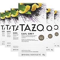 Tazo Earl Grey Black Tea, 20 Count (Pack of 6)