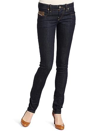 Diesel Damen Grupee 0881K Jeans Hose Skinny Super Slim