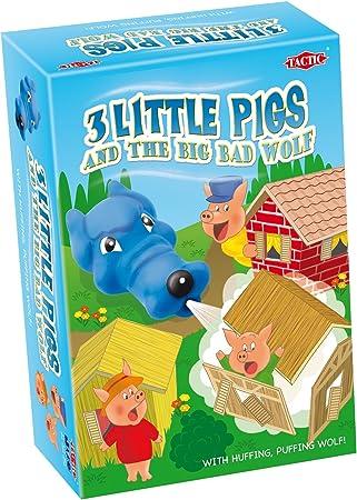 Peppa Pig Tactic 01222 - Juego de Mesa de los 3 cerditos y el Lobo: Amazon.es: Juguetes y juegos