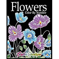 Flowers Color by Number: Coloring Book for Adults - 25 Relaxing and Beautiful Types of Flowers: 11