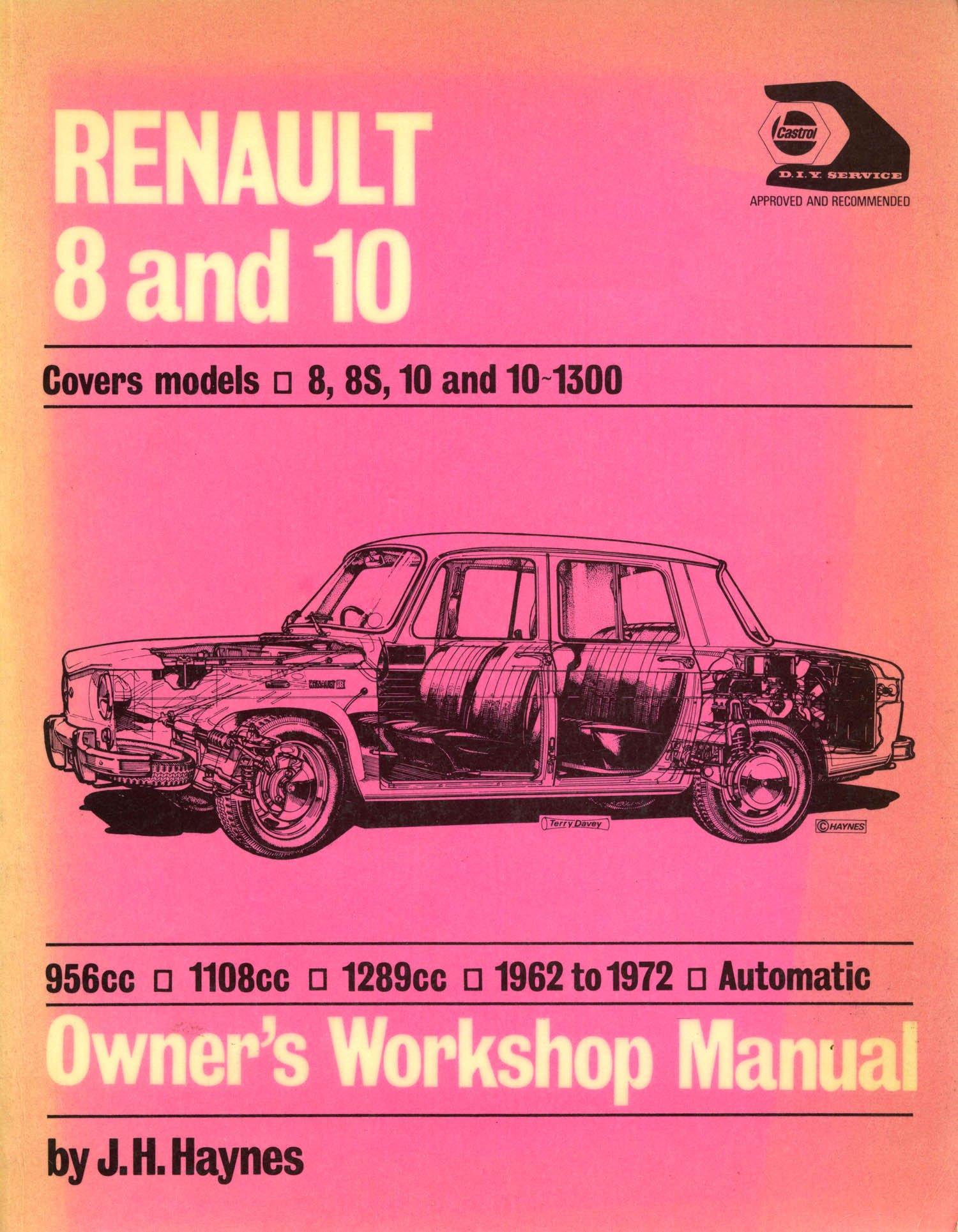 buy renault 8 and 10 owner s workshop manual book online at low rh amazon in Renault R31 Renault Megane 3