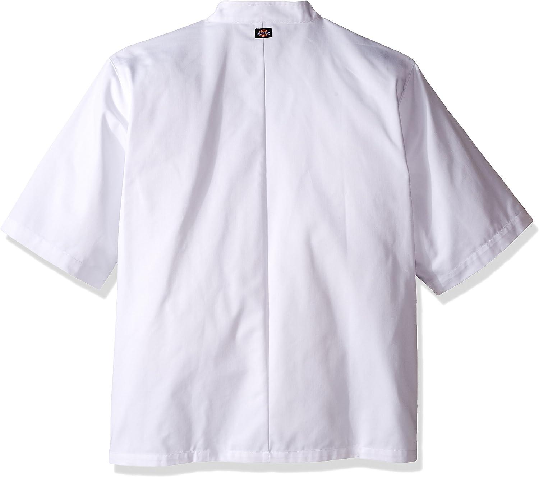 Dickies Mens Short Sleeve Button Coat