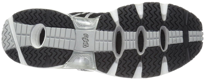 Ryka Women's Hydro Sport Water Shoe B01GEW69WU 9.5 B(M) US|Black/Silver