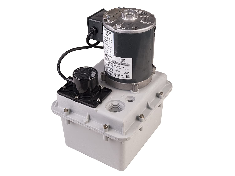 "LTP-1 Hartell Laundry Tray Pump, W/2 Gallon Reservoir, 115 Volt, 1/4 HP  1-1/2"" Inlet 1"" Outlet - Portable Power Water Pumps - Amazon.com"