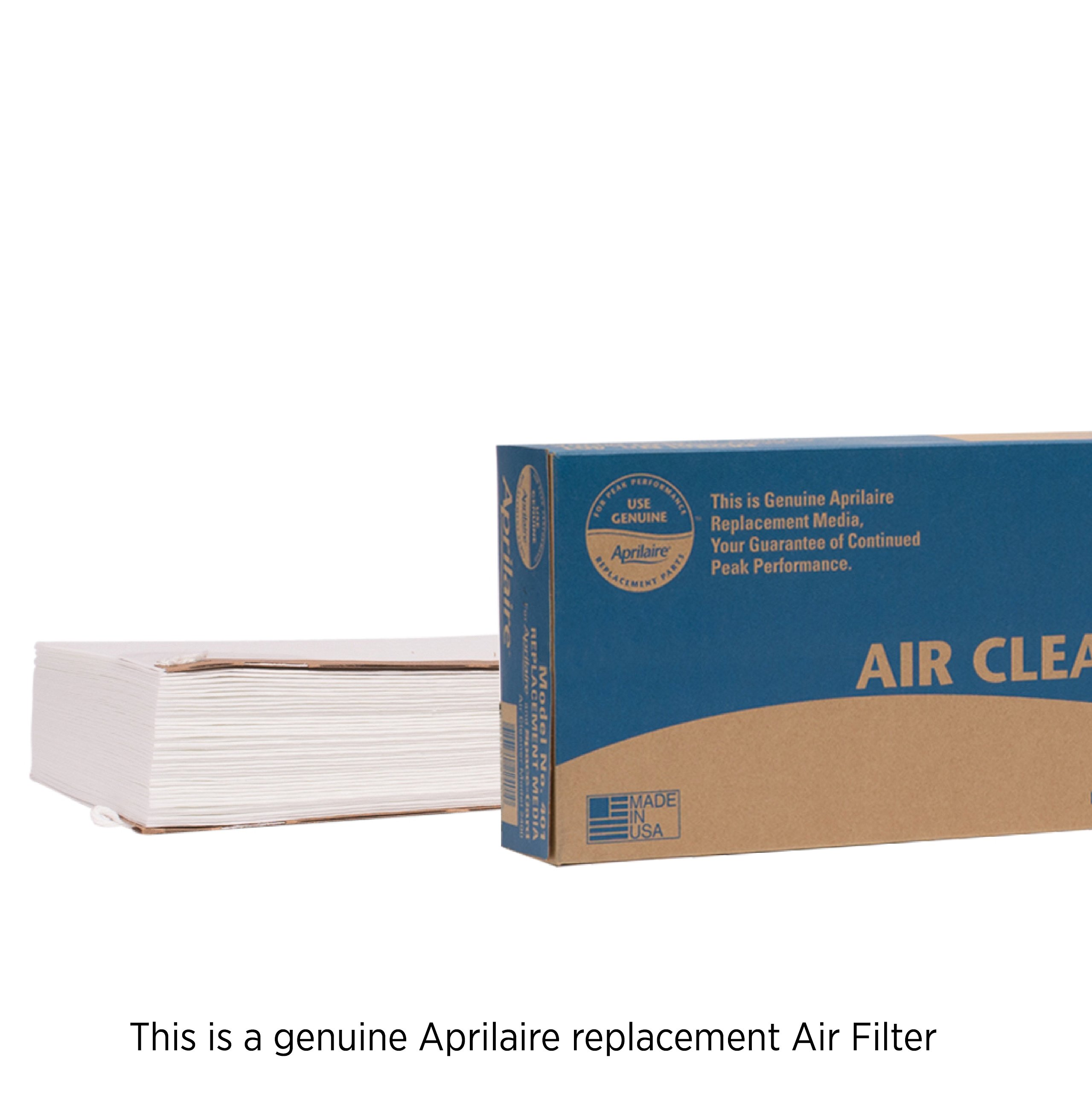 Aprilaire 401 Air Filter for Aprilaire Whole Home Air Purifier Models: 2400, Space-Gard 2400, MERV 10 (Pack of 1)
