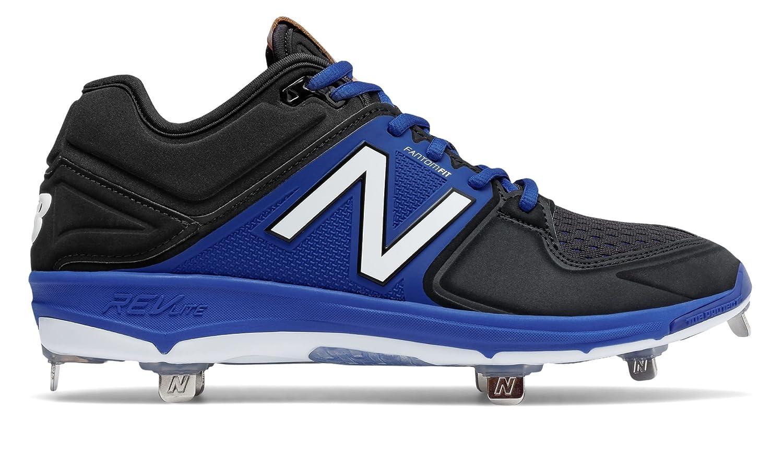 (ニューバランス) New Balance 靴シューズ メンズ野球 Low-Cut 3000v3 Metal Cleat Black with Blue ブラック ブルー US 15 (33cm) B01N3U7MF8