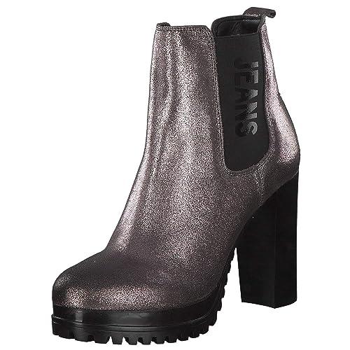 Tommy Hilfiger - Botines Chelsea de Sintético Mujer: Amazon.es: Zapatos y complementos