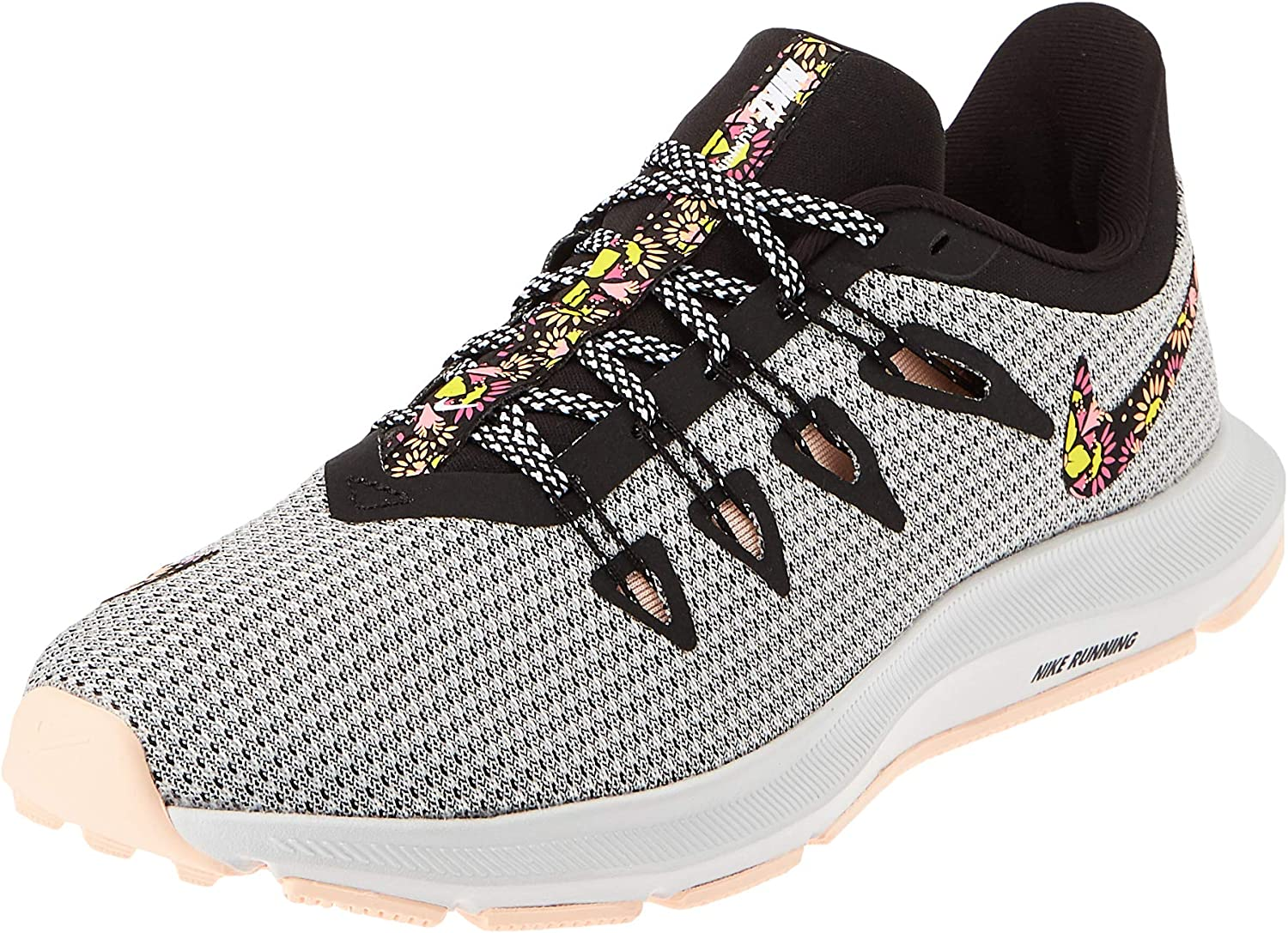 Nike Wmns Quest Se, Zapatillas de Atletismo para Mujer, Multicolor (White/Black/Crimson Tint/Lotus Pink 000), 36 EU: Amazon.es: Zapatos y complementos