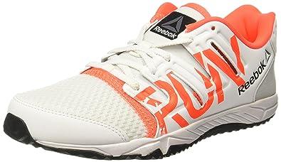 online retailer fb73e 1edff Reebok Boys Ultra Speed Jr White Red Pewter Black Sports Shoes - 2.5