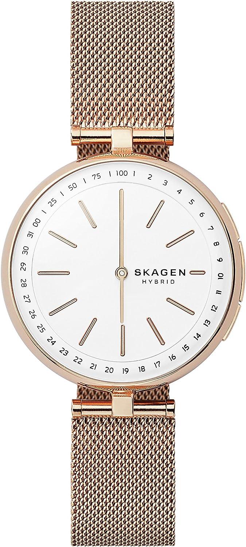 Skagen Reloj Analogico para Unisex de Cuarzo con Correa en Acero Inoxidable SKT1404