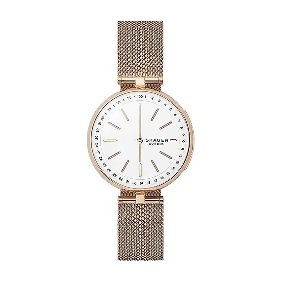 0c5edbcf09c1 Skagen Women s Signatur T-Bar Quartz Watch with Stainless-Steel Strap
