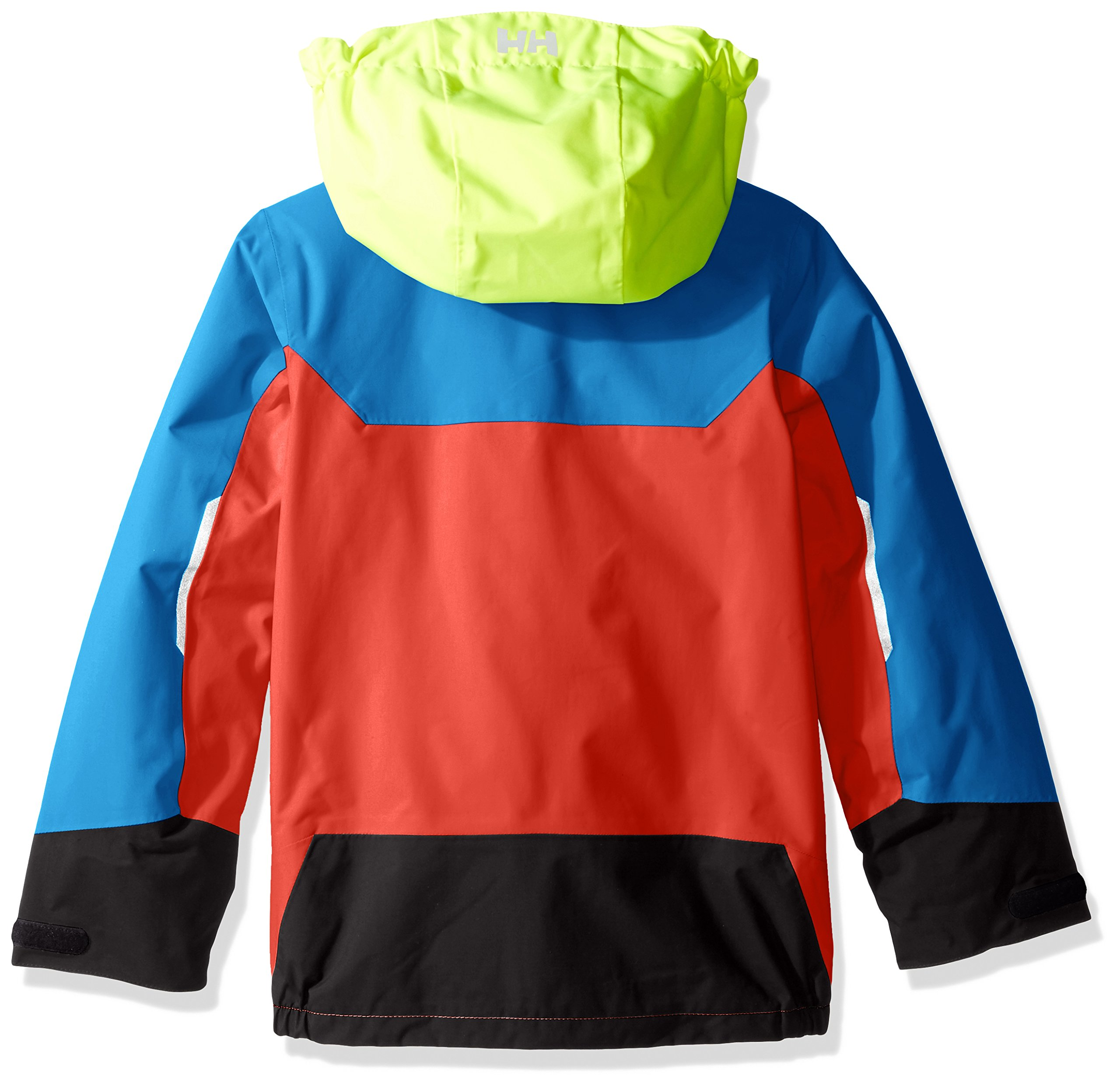 Helly Hansen Kids Shelter Waterproof Rain Jacket Coat, 102 Cayenne, Size 1 by Helly Hansen (Image #2)