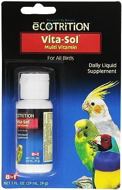 ecotrition Ultravite Vita-Sol Multi-Vitamin Supplement for Bird