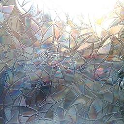 Zindoo Vinilos Ventanas Cristal Vinilo de Privacidad Pegatinas Ventana Vinilos Cristales Adhesive Vinilos Traslucido para Cristal Laminas para Ventanas Privacidad 90x200CM: Amazon.es: Hogar