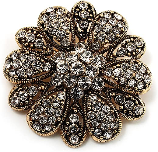 Treat yourself Beautiful Classic Brooches