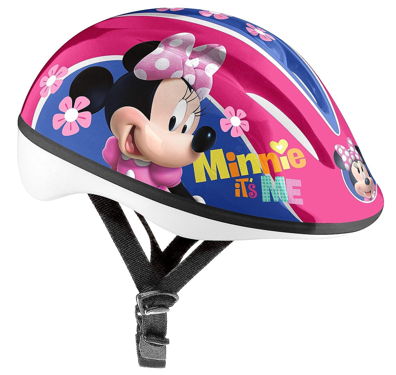 Ni/ñas Stamp Bicycle Helmet Minnie XS Cascos 46//53 CM Rosa