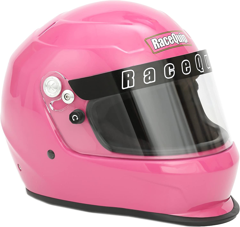 RaceQuip 2231193 Gloss White Pro Kids Full-Face Model Youth//Jr Auto Racing Helmet SFI 24.1 2015