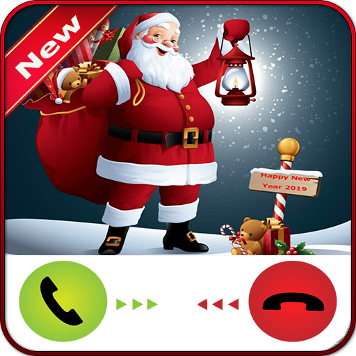 Amazon Com Santa Calling Happy New Year Appstore For Android