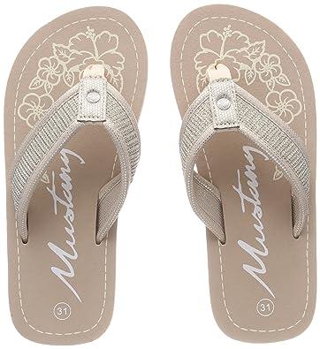 e32dfc803 Mustang Girls  5041-707-524 Flip Flops  Amazon.co.uk  Shoes   Bags