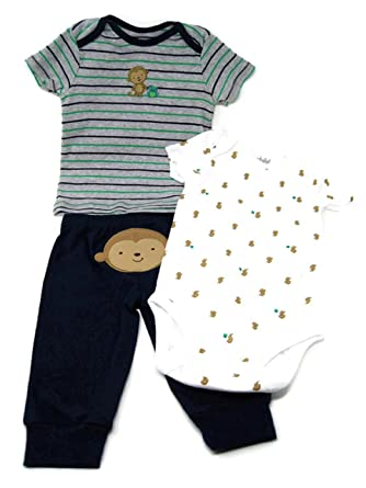 9191740d3 Amazon.com  Baby Boy Clothes Shirt Bodysuit and Pant Set Child of ...