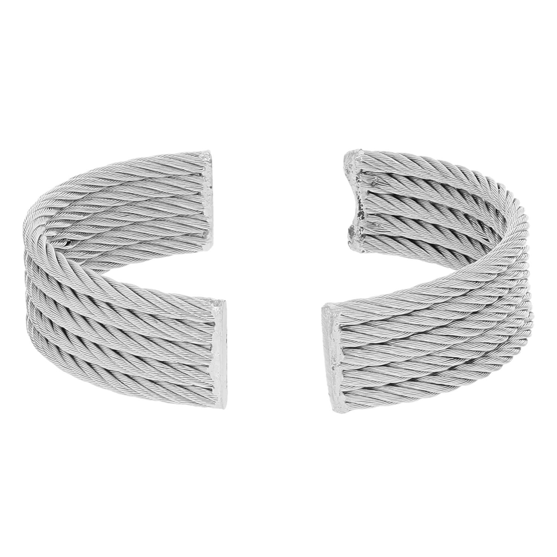 Charriol 12 -5 mm Edelstahl 5 reihig Damen-Armbanduhr Armband