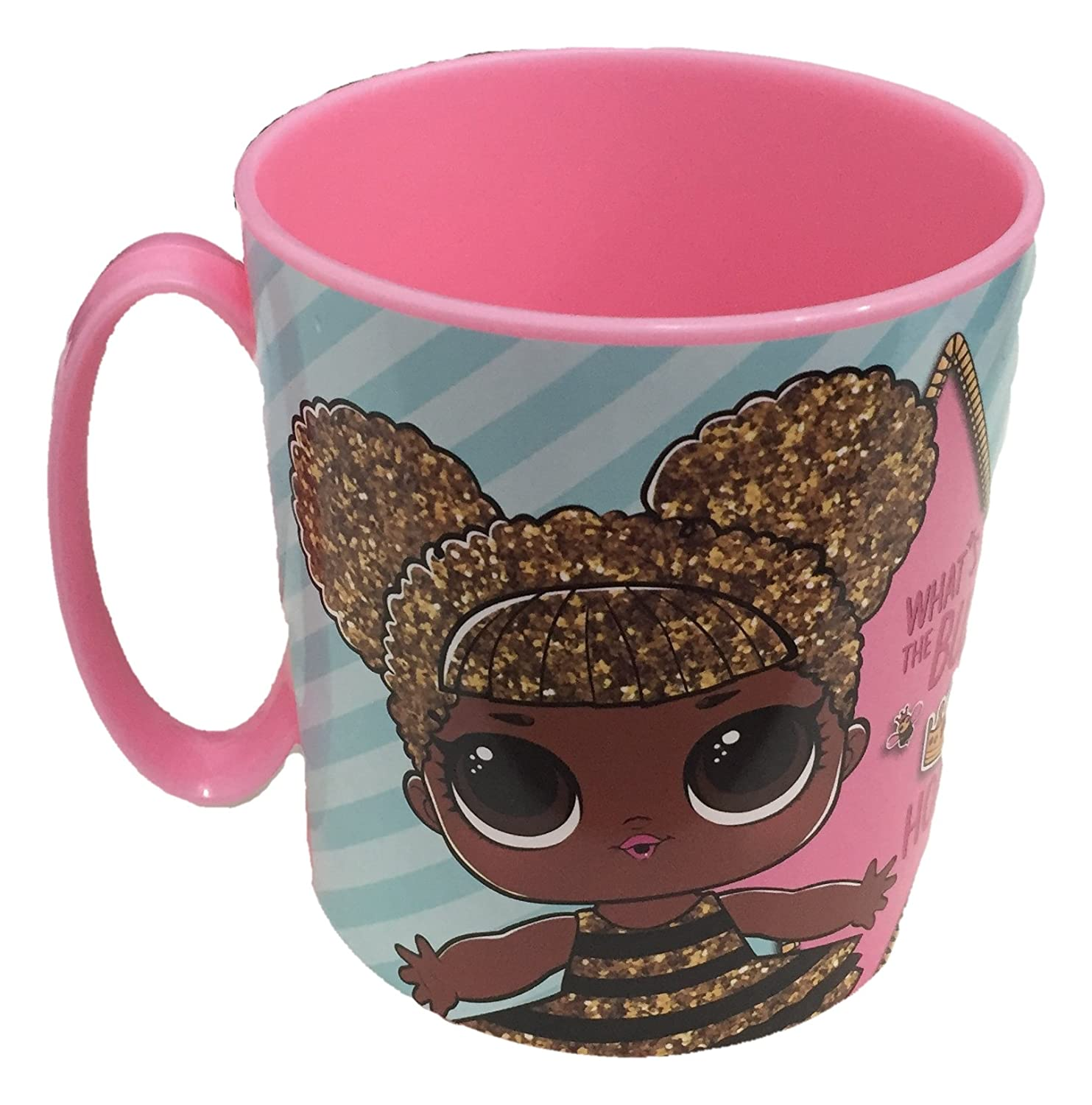 LOL Surprise 44304. Taza para microondas 350ml. SELECCION DRIM