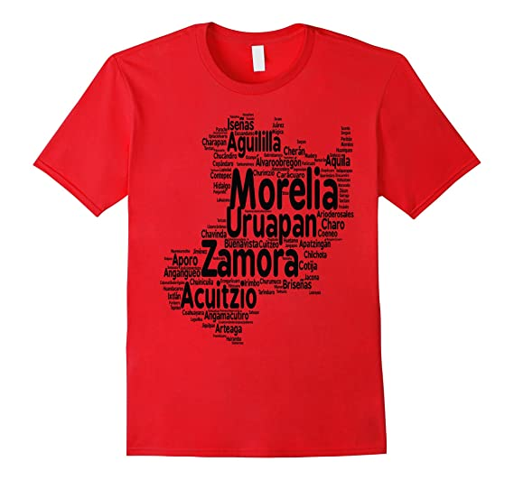 Michoacan Mexico T Shirt by Mexicoviptshirts